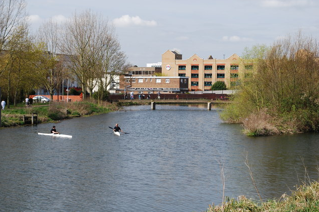 River Chelmer Chelmsford Essex