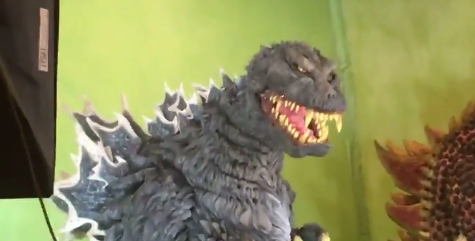 Man creates incredible Godzilla costume