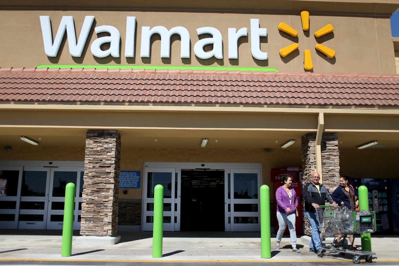A Walmart store in Miami, Florida