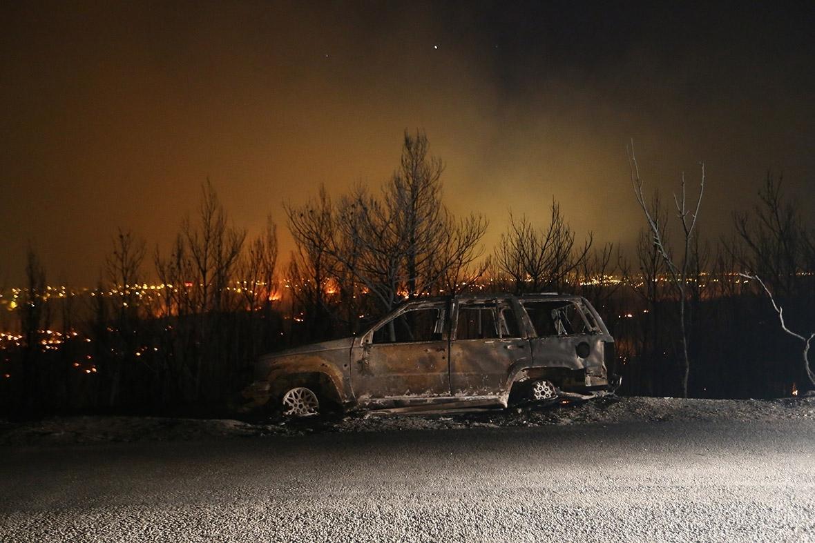 Balkans Croatia Montenegro fire