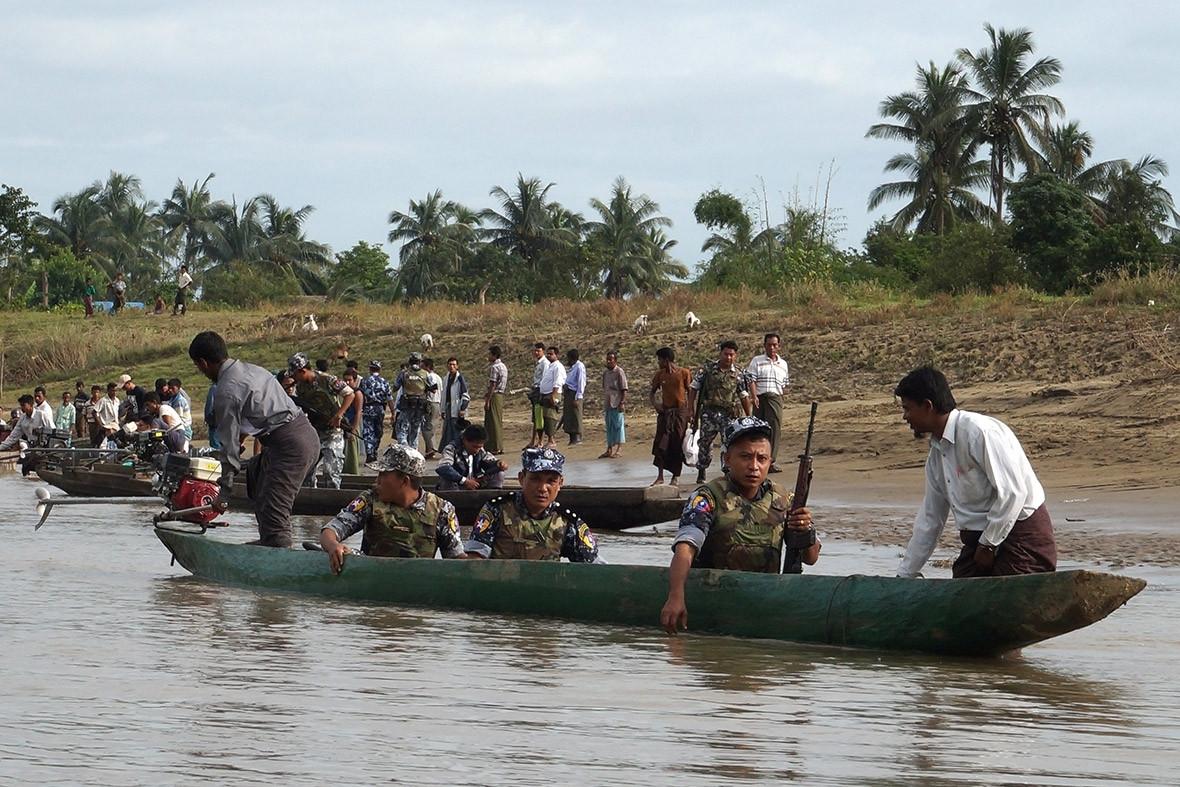 Myanmar Rohingya Rakhine