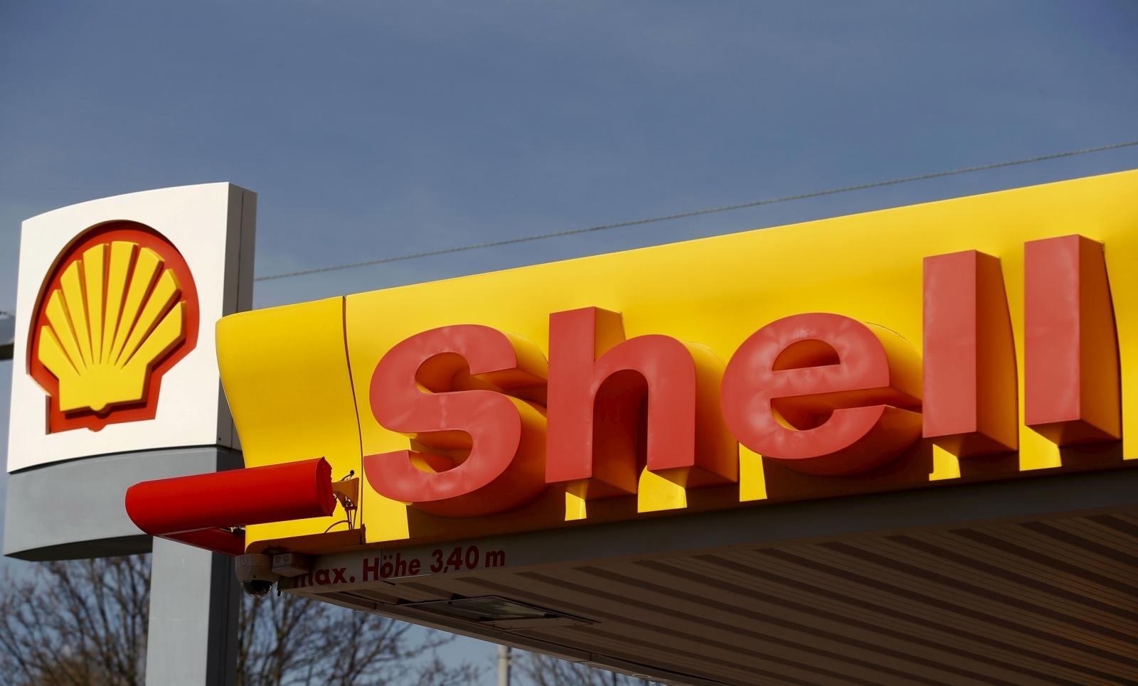 Shell service station