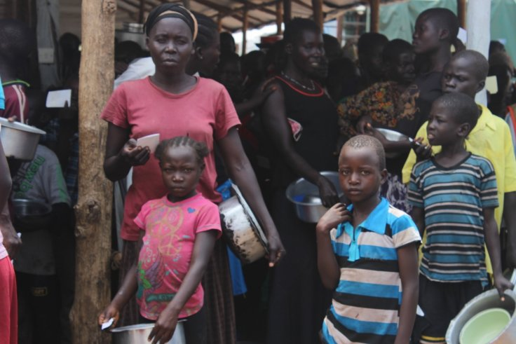 South Sudanese refugees in Uganda