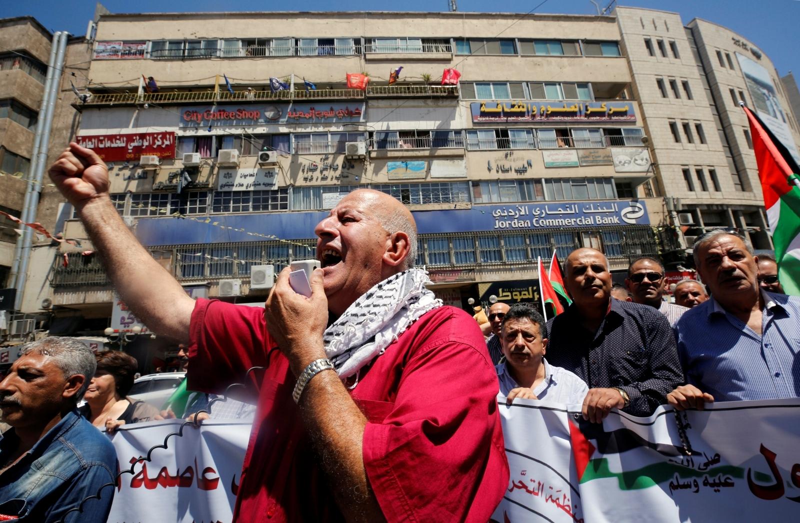 Al-Aqsa protest