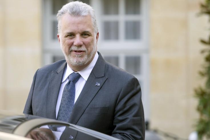 Quebec Premier Philippe Couillard