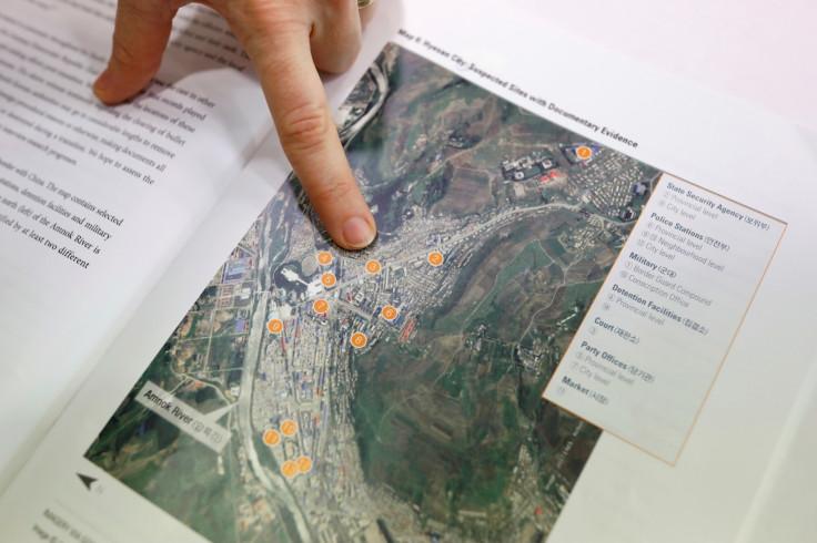 North Korea public execution sites