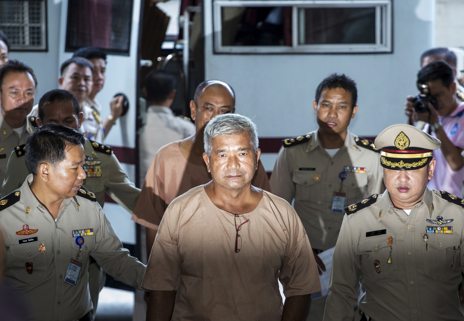 Thai court verdict on human trafficking trial