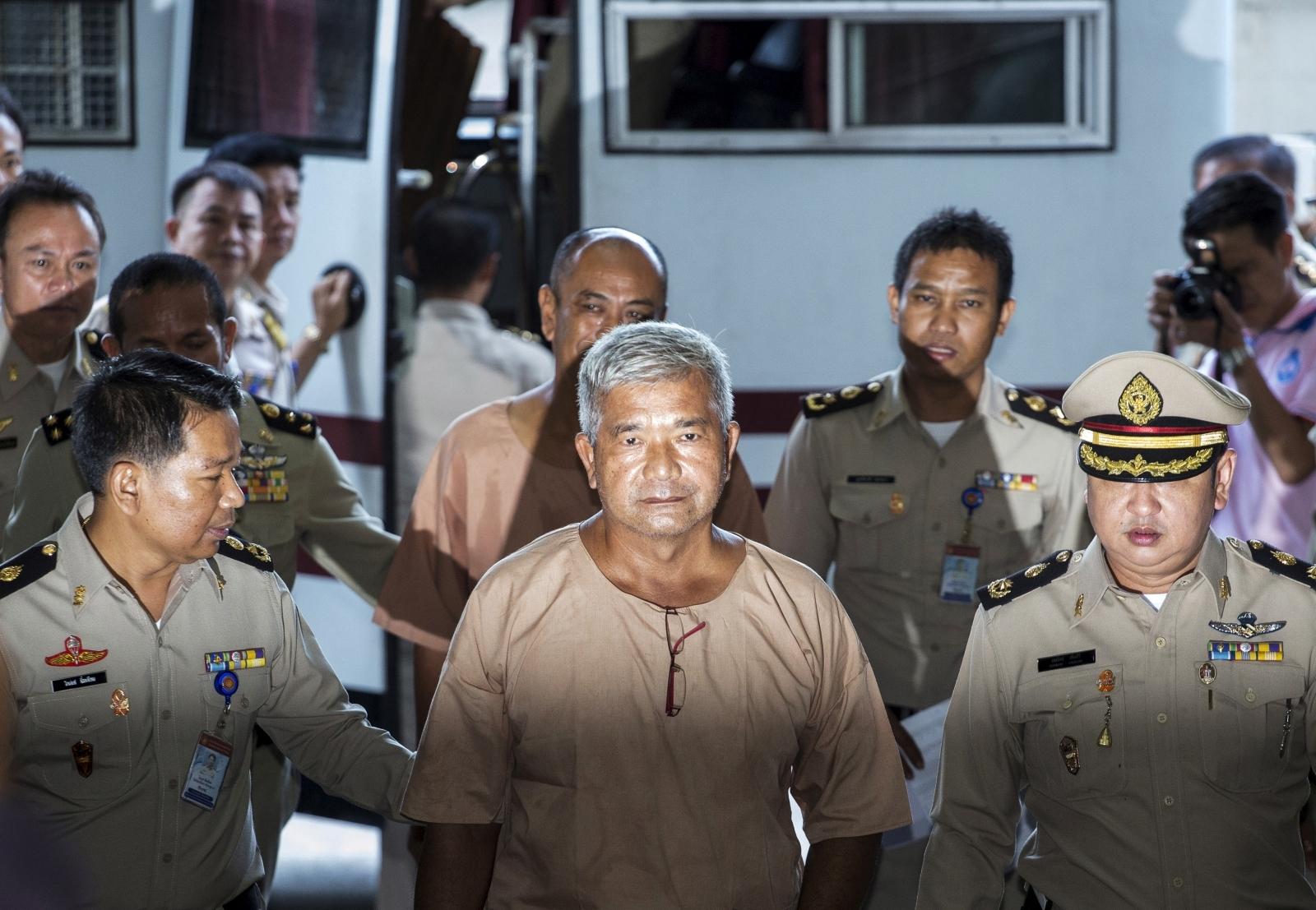 Thai court verdict on human trafficking trial