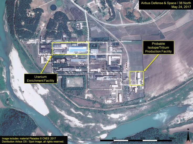 North Korea Yongbyon nuclear facility