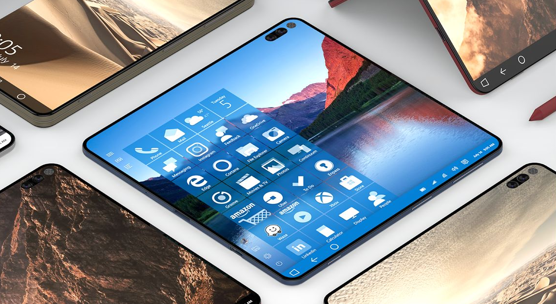 Is this the Surface Phone? Microsoft teases mystery ...