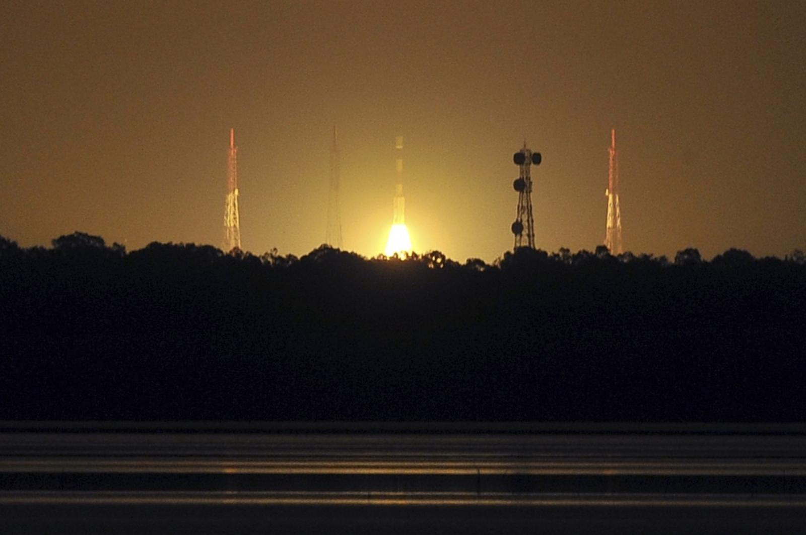 anti-satellite missile launch