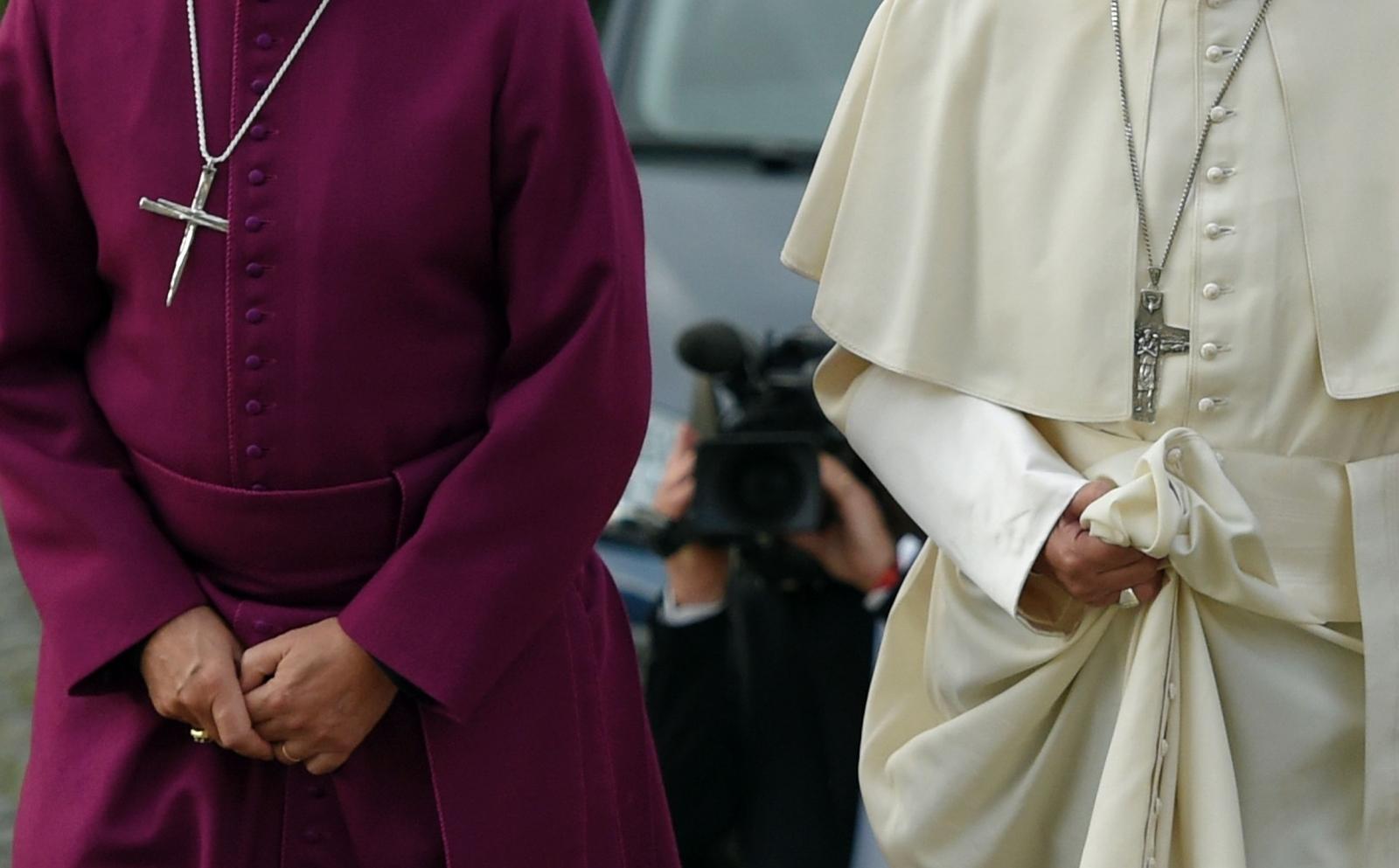 archbishop canterbury pope