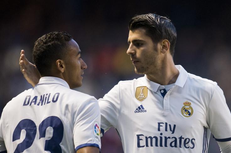 Danilo and Alvaro Morata