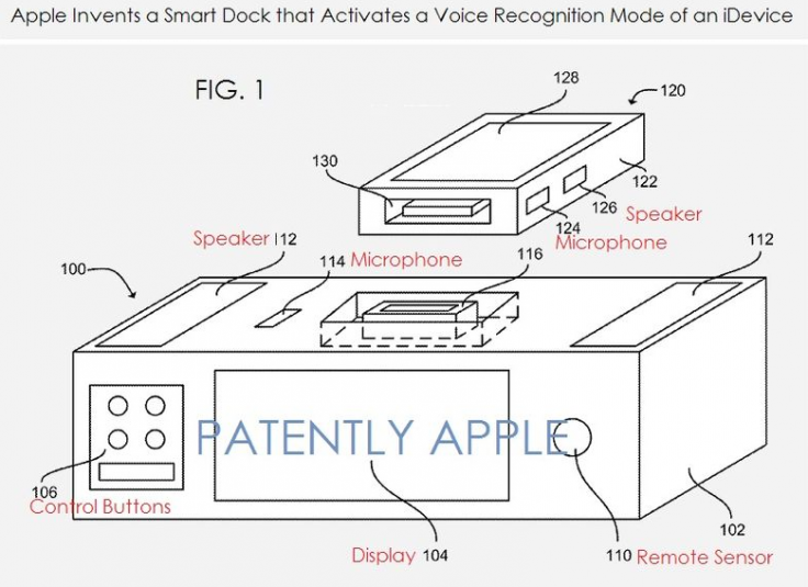 Apple Smart Dock patent