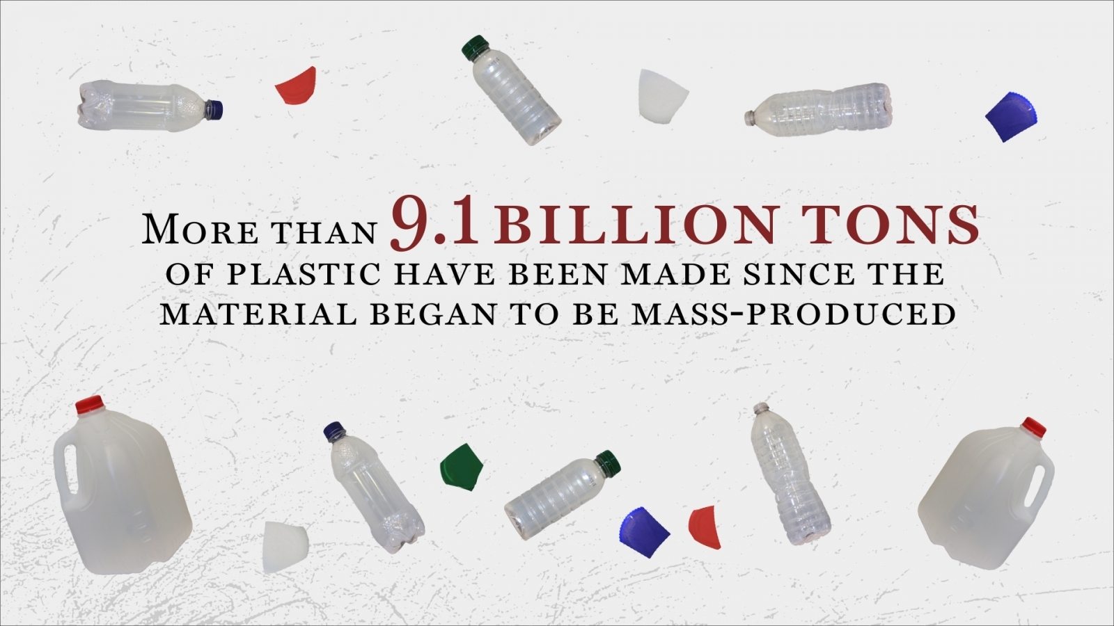 We've made 9.1 billion tonnes of plastic since it was invented – here's where it ends up