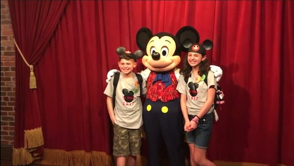 Mickey Mouse surprises kids with adoption date announcement