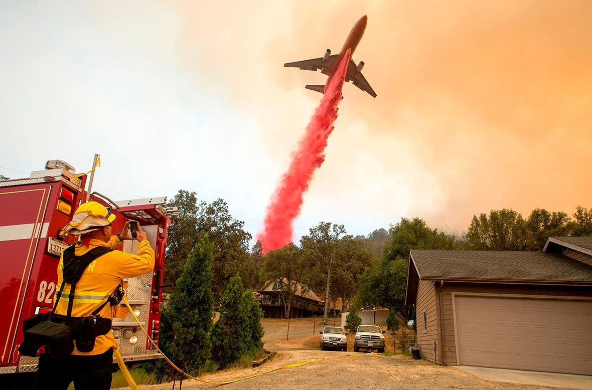 Detwiler fire mariposa california