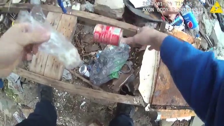 Bodycam footage allegedly shows Baltimore police officers planting drugs