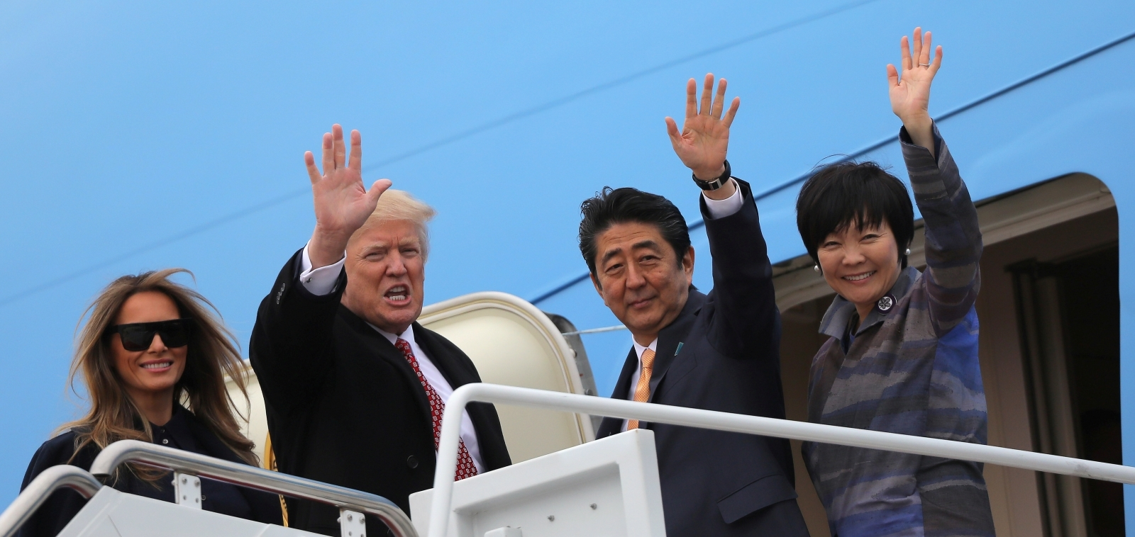 Trump Akie Abe