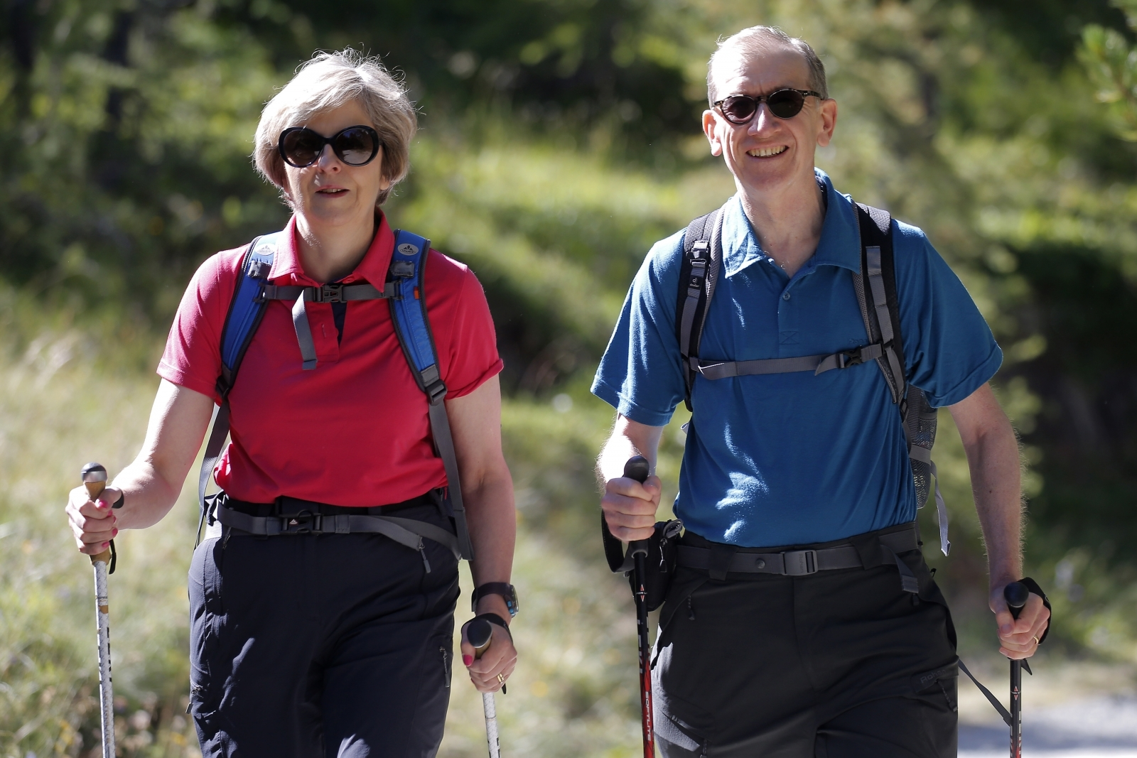 Theresa May to holiday in Switzerland and Italy