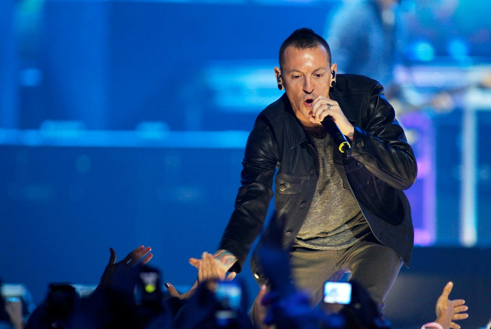 Chester Bennington of Linkin Park found dead