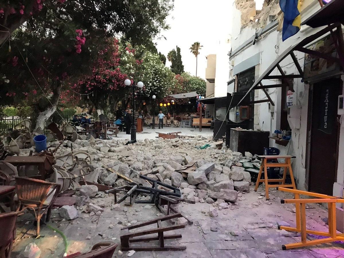 earthquake Kos Greece