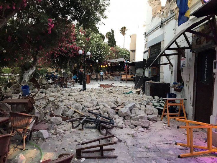 earthquake Kos Greece