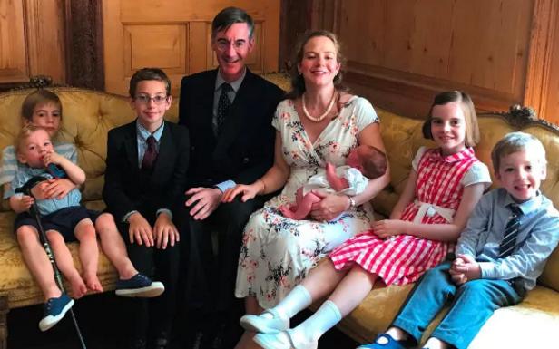 Jacob Rees-Mogg children family