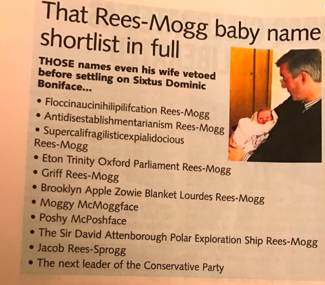 Rees-Mogg children names