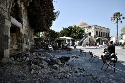 Kos earthquake Turkey tsunami