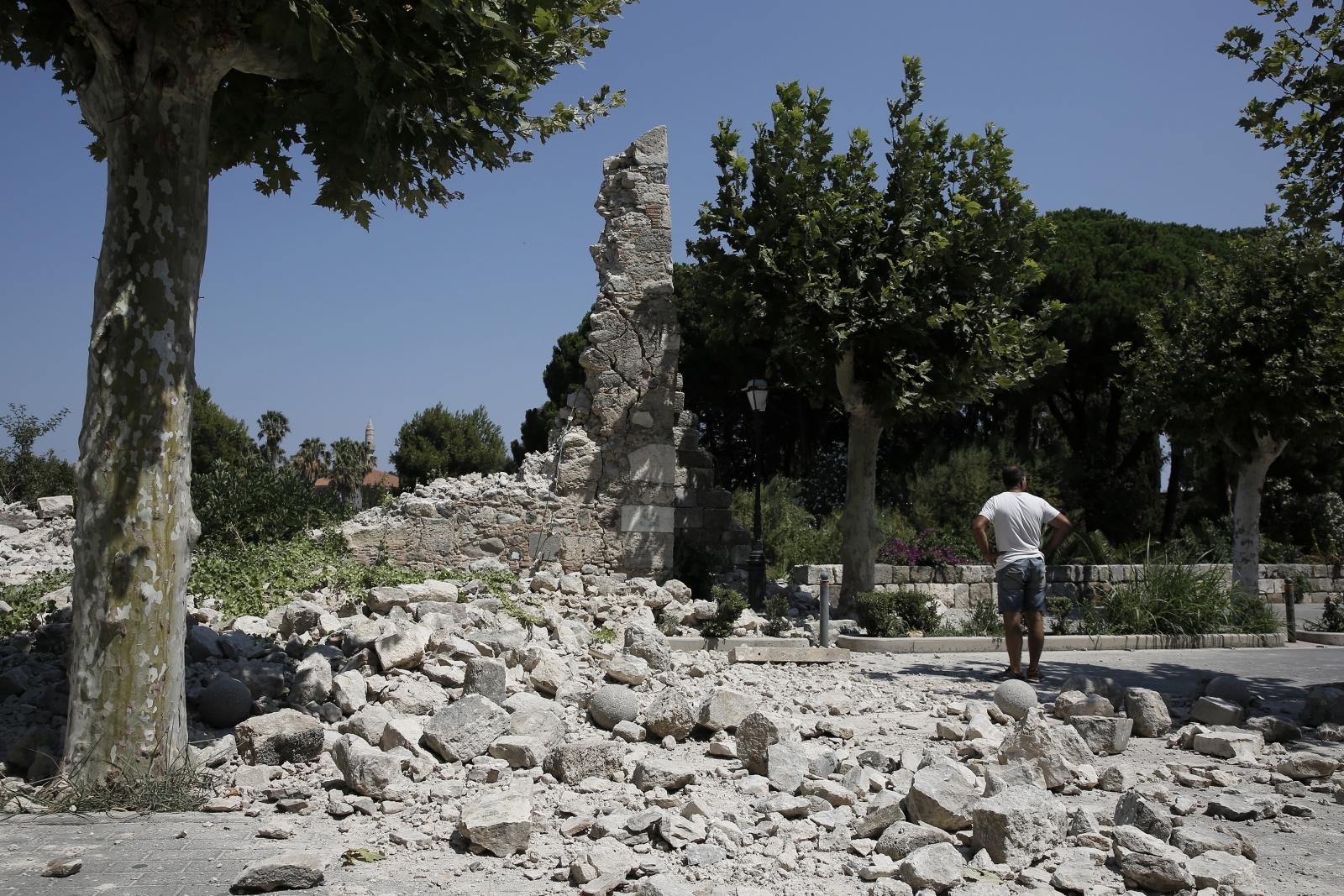 Kos earthquake Turkey tsunami