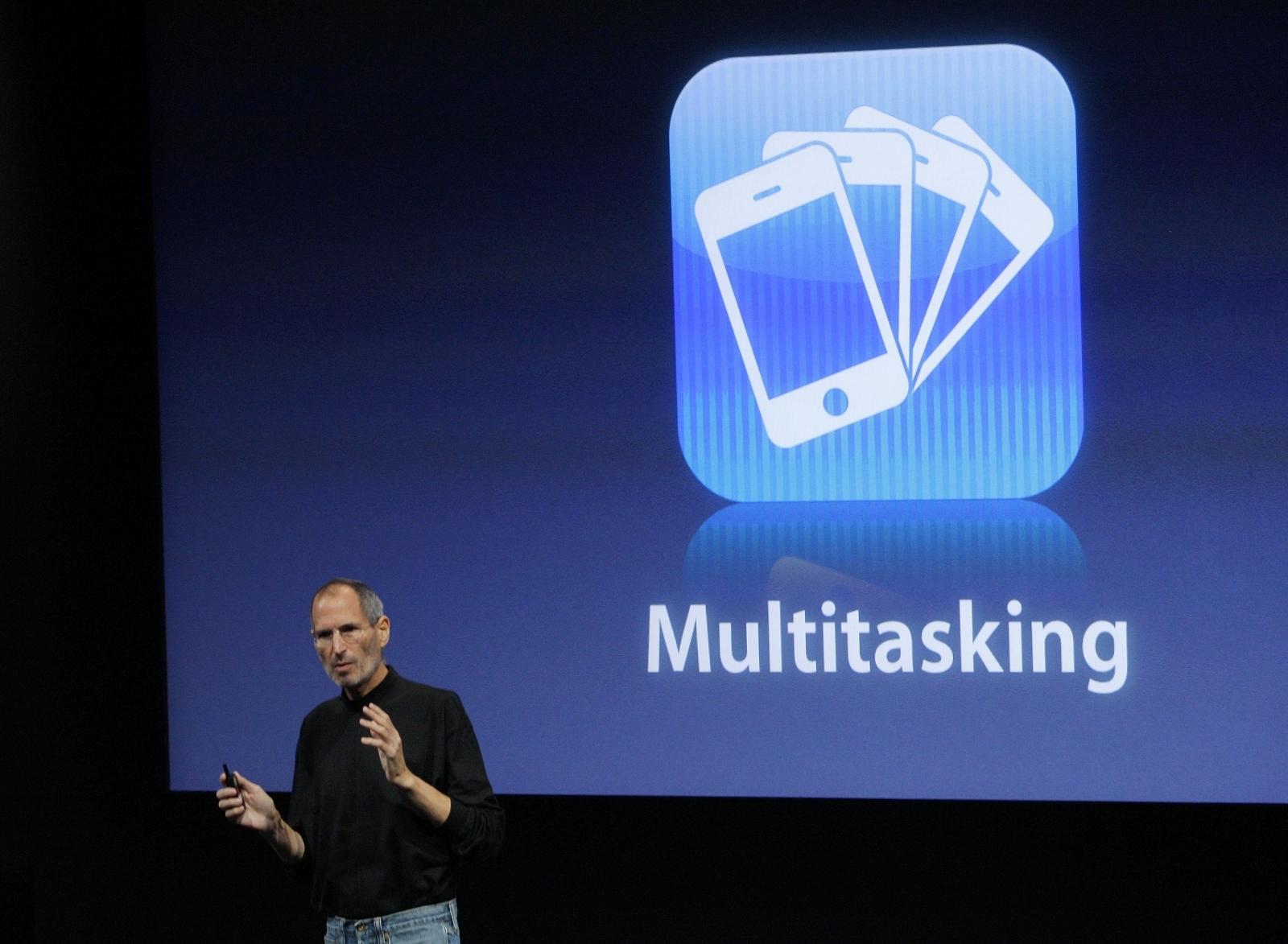 Steve Jobs iPhone event