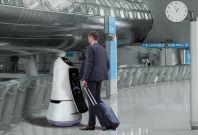LG airport robot