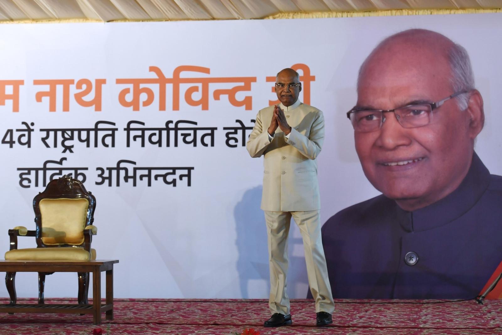 India president elections Ram Nath Kovind