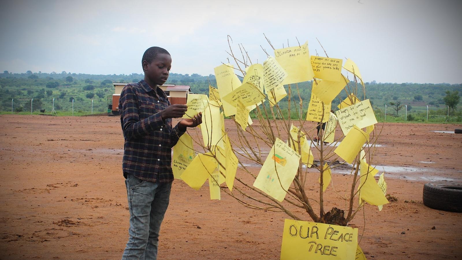 South Sudanese refugee Samuel