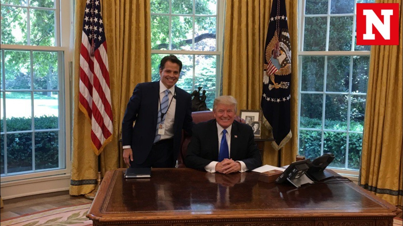 Anthony Scaramucci is Donald Trump's new White House communications director