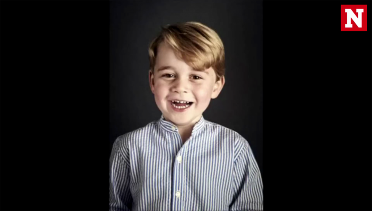 Prince George celebrates his fourth birthday with an official portrait