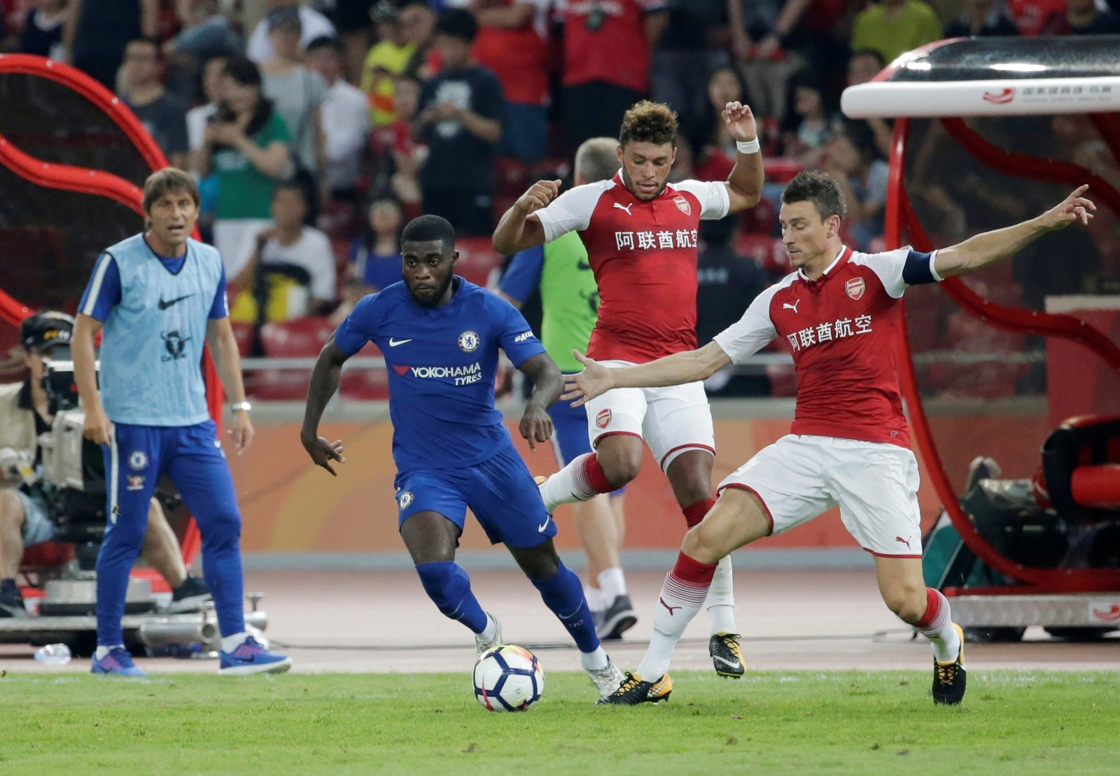 Chelsea winger to play no further part in pre-season tour