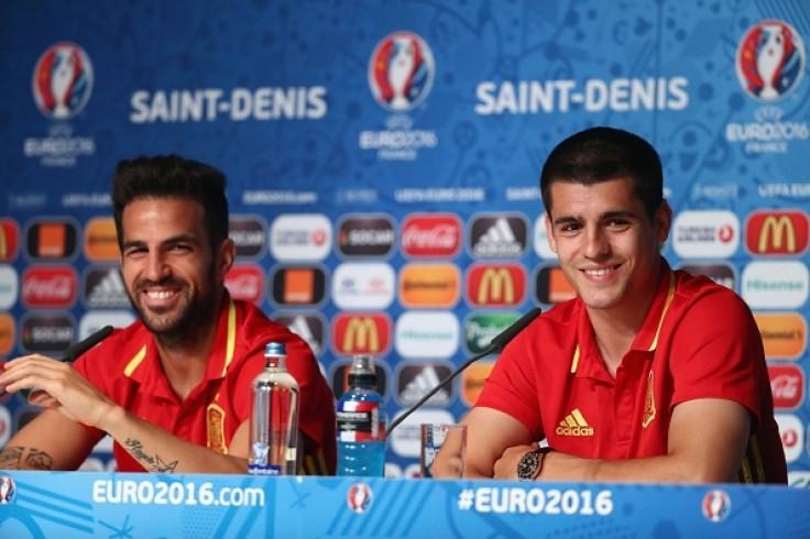 Fabregas and Morata