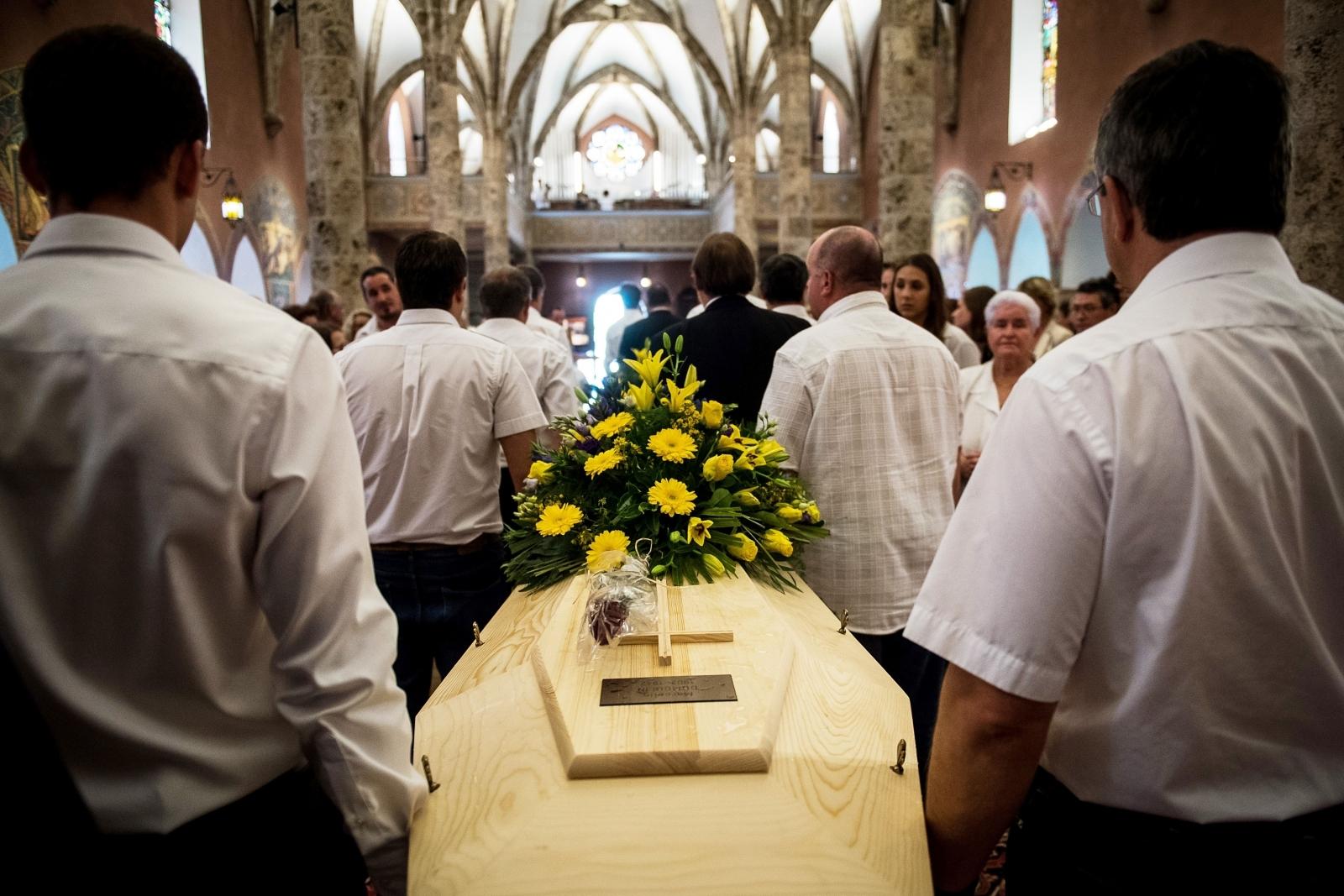 Frozen Swiss Couple Funeral