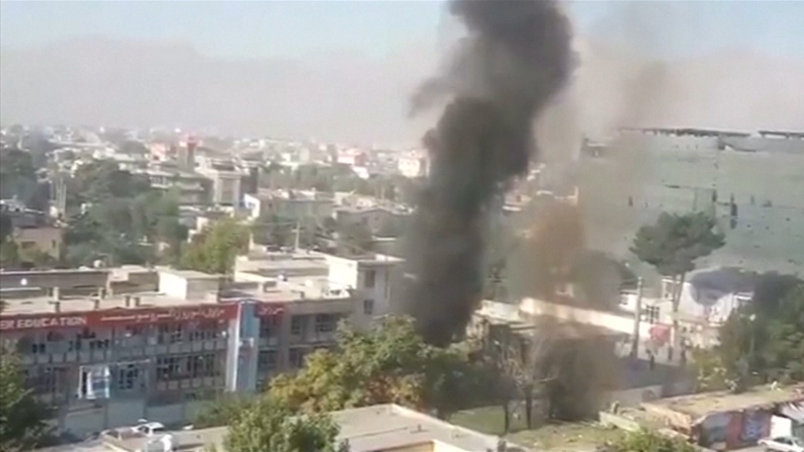 Kabul suicide bomb kills at least 24