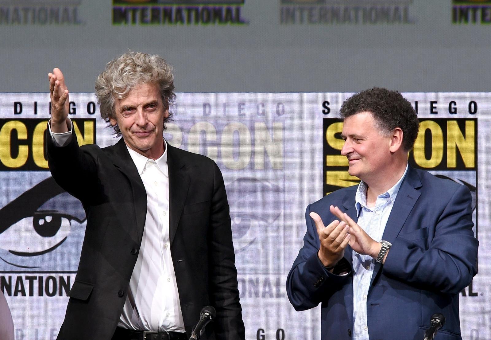 Peter Capaldi, Steven Moffat