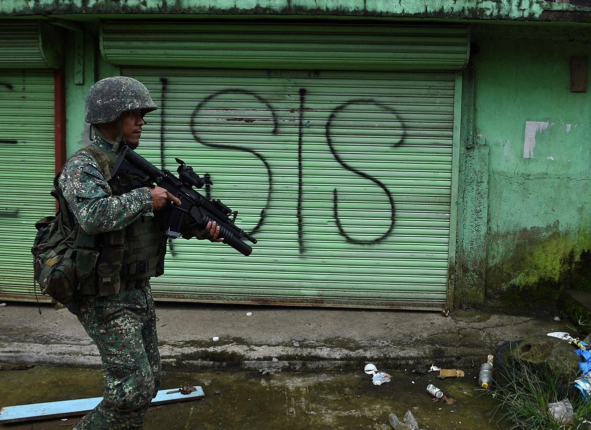 Marawi siege martial law