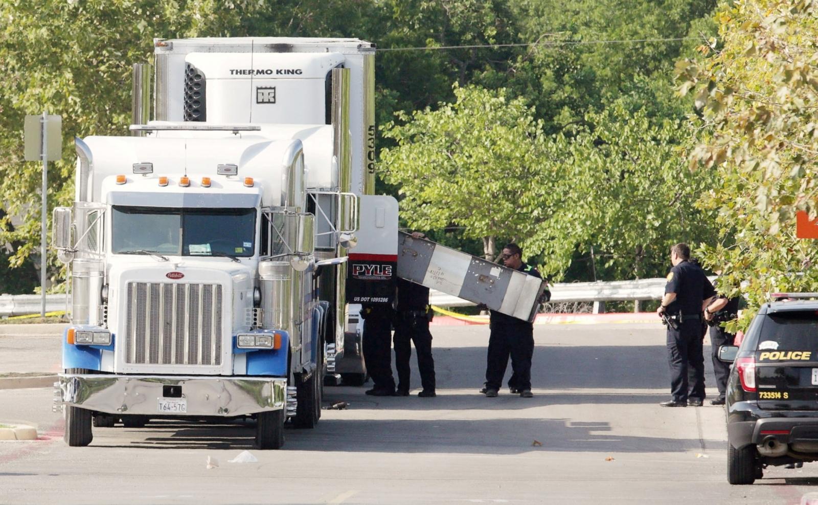 San Antonio Texas truck
