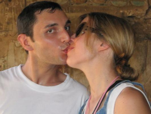 Erika Fiore and Dimitri Fricano