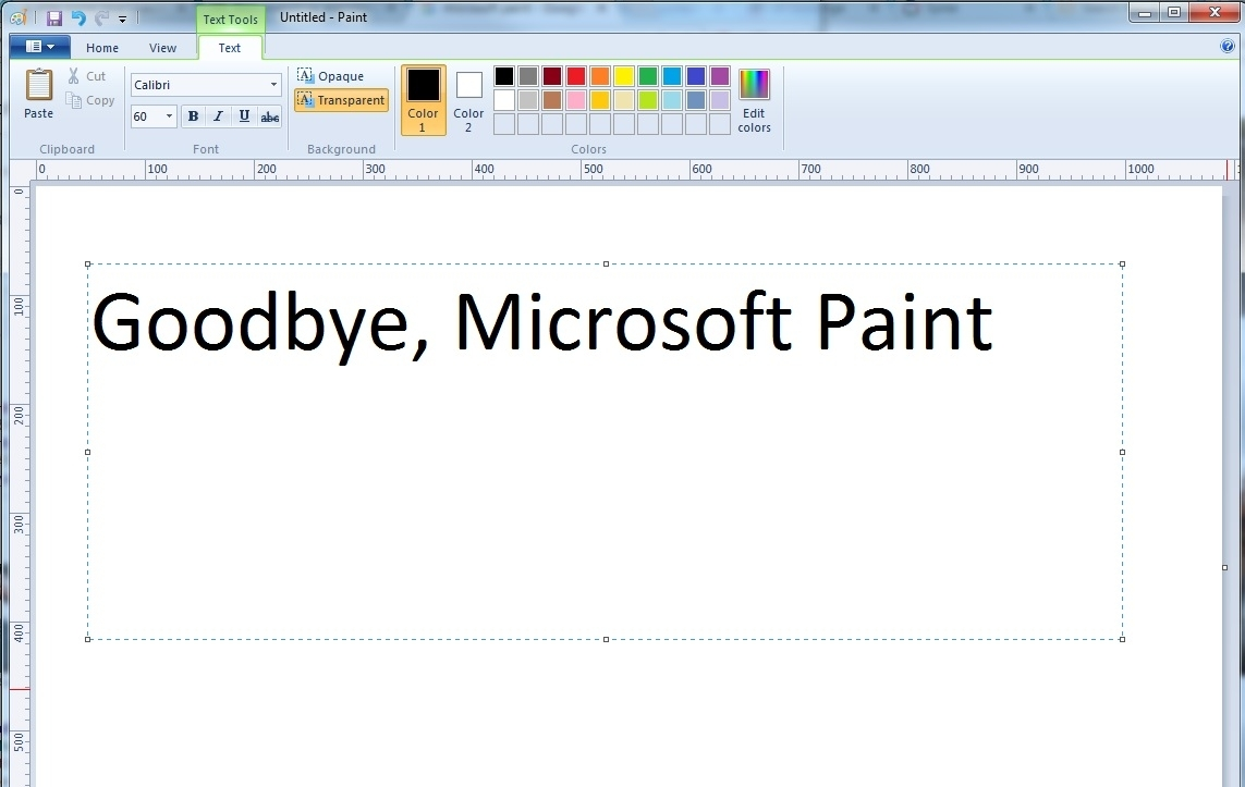 Microsoft Paint to be discontinued