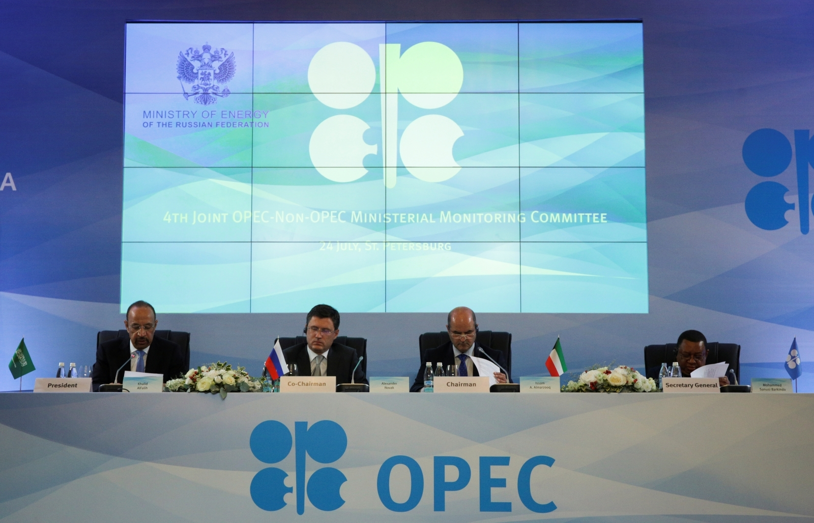 Opec meeting Alexander Novak