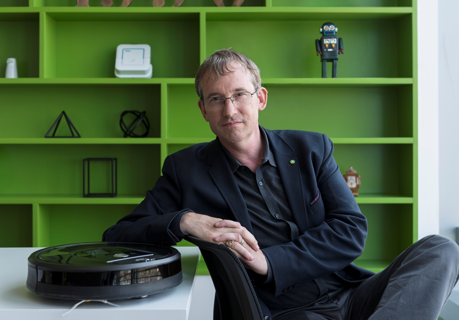 IRobot's CEO defends Roomba home mapping as privacy concerns arise