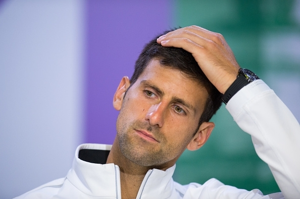 Novak Djokovic could miss the US Open with an elbow injury