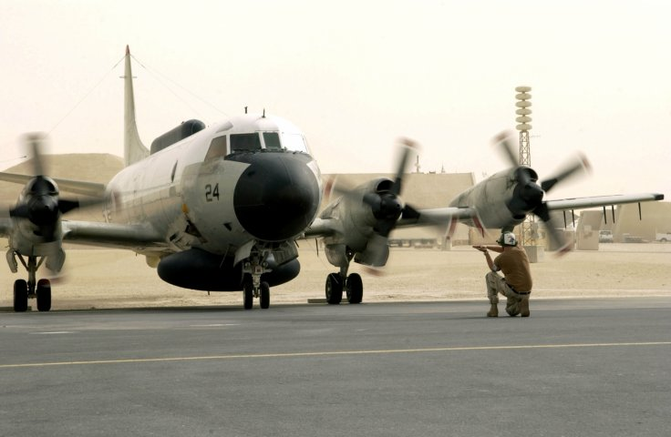 US Navy EP-3E aircraft